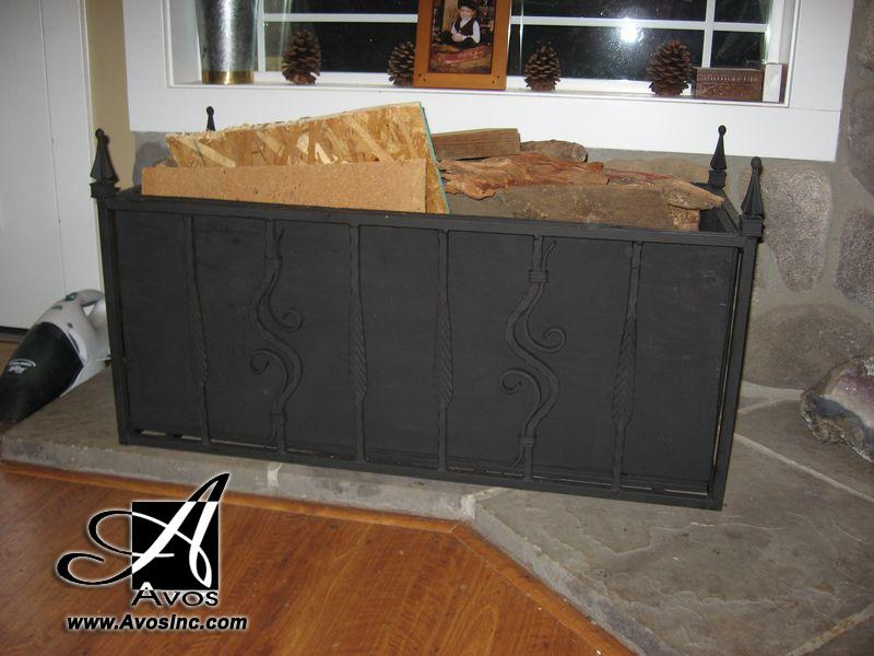 12- Wood Rack