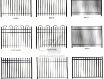 Differnt Fence Drawings